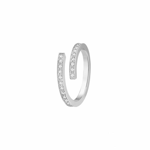 Bague dinh van Spirale dinh van petit modèle en Or blanc et Diamant