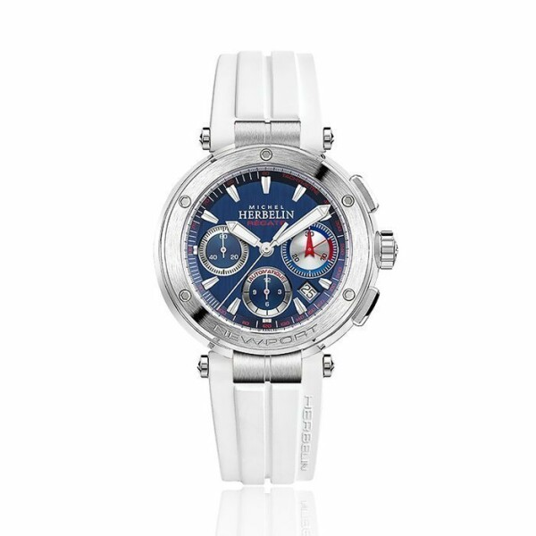 Montre Michel Herbelin Newport Chronographe Automatique Régate 268/15PR
