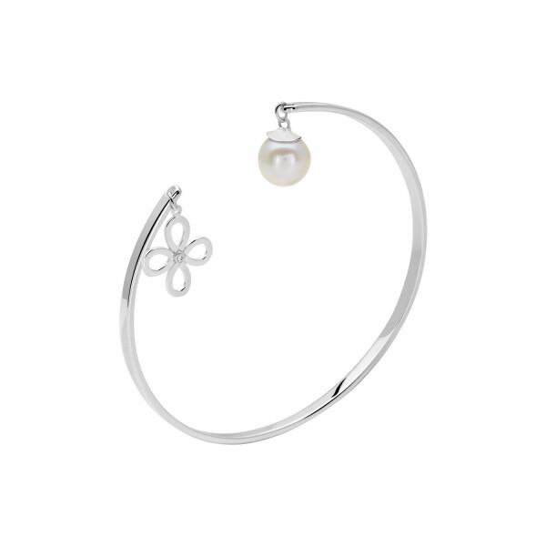 Bracelet Murat en argent, perles et oxyde de zirconium