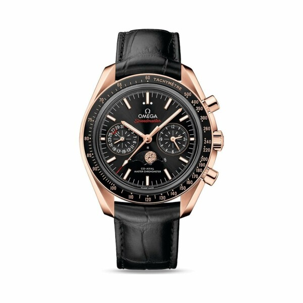 Montre Omega Speedmaster Moonwatch Co‑Axial Master Chronometer Chronographe Phases de lune 44.25mm