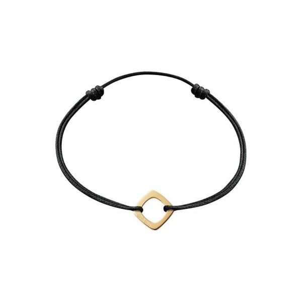 Bracelet sur cordon dinh van Impression en or jaune