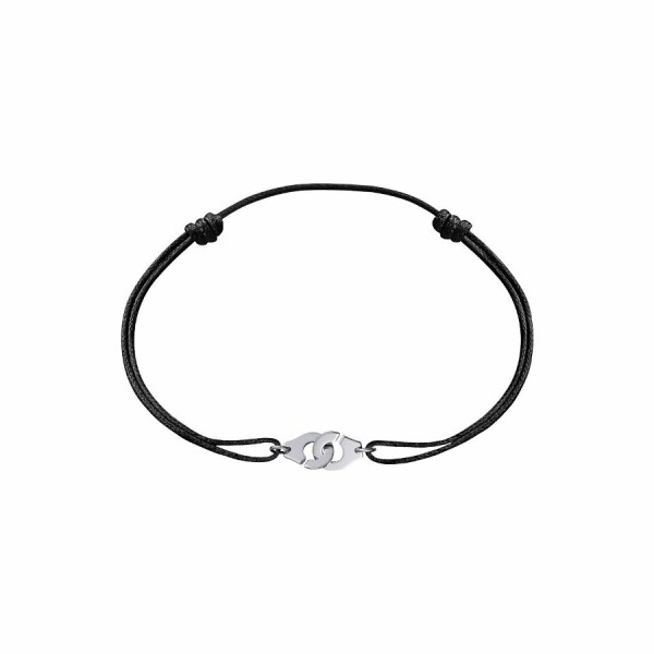 Bracelet sur cordon dinh van Menottes dinh van R8 en Or blanc
