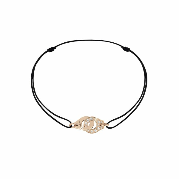 Bracelet dinh van Menottes dinh van en or rose et diamants