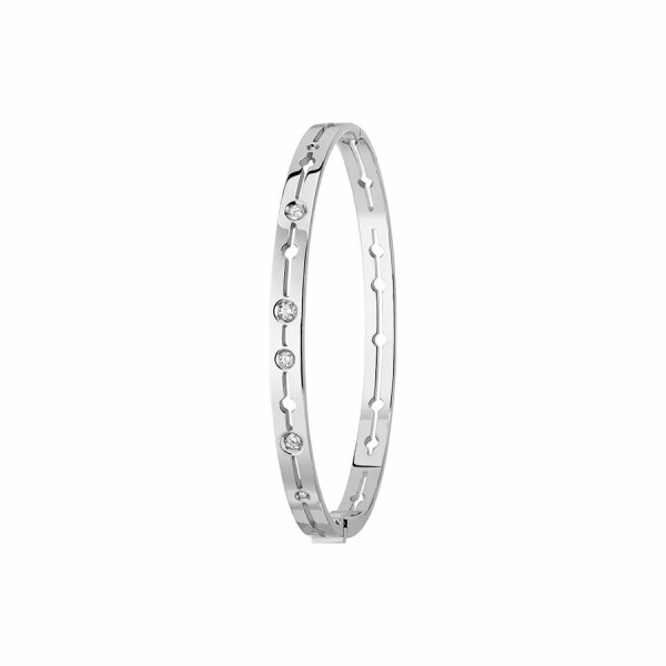 Bracelet dinh van Pulse dinh van en or blanc et diamants