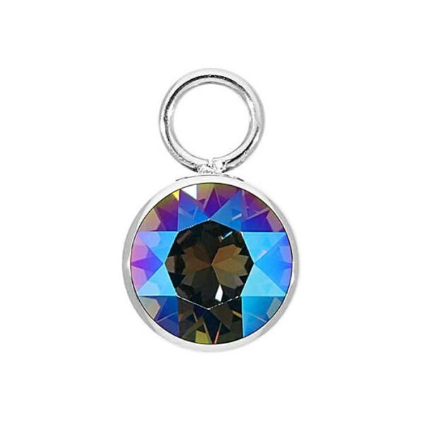 Pendentif Poiray Coeur Entrelacé petit modèle en or rose