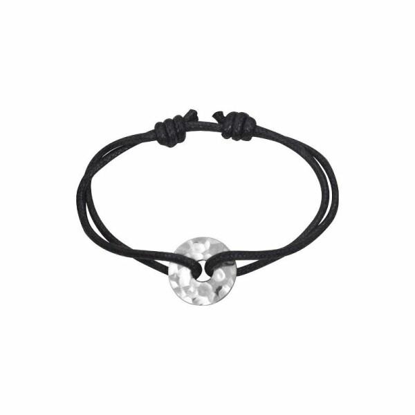 Bracelet dinh van Pi Chinois en Argent martelé