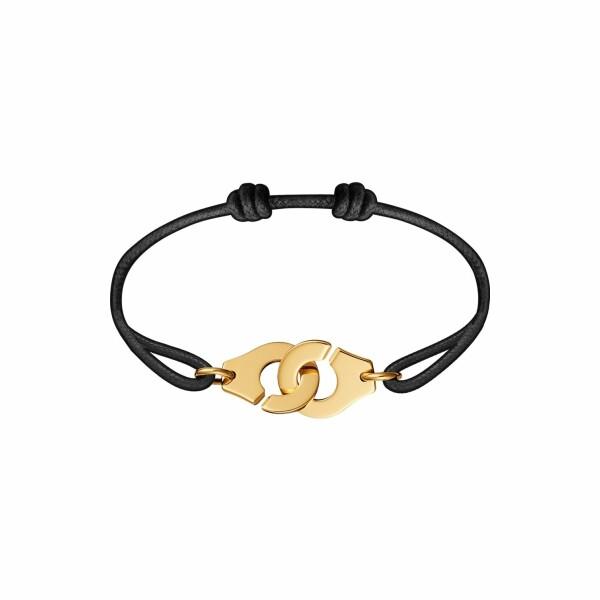 Bracelet Menottes dinh van en or jaune