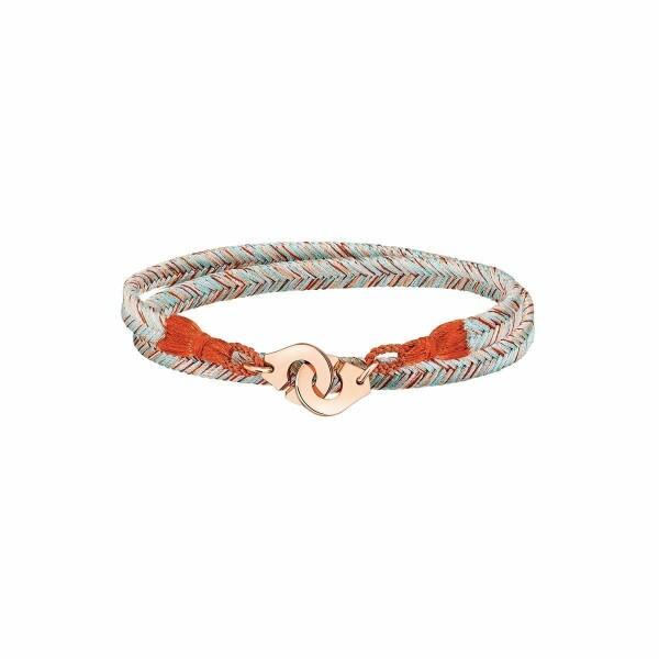 Bracelet dinh van Menottes dinh van R10 en or rose