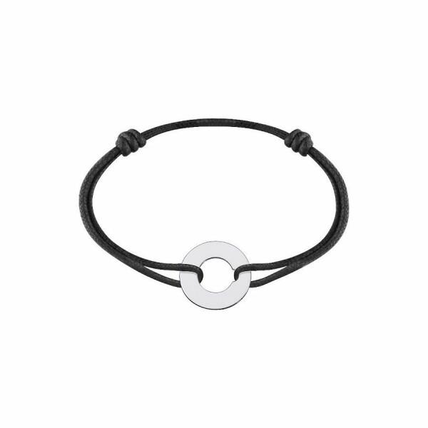 Bracelet sur cordon dinh van Cible grand modèle en Or blanc