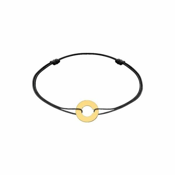 Bracelet sur cordon dinh van Cible XS en Or jaune