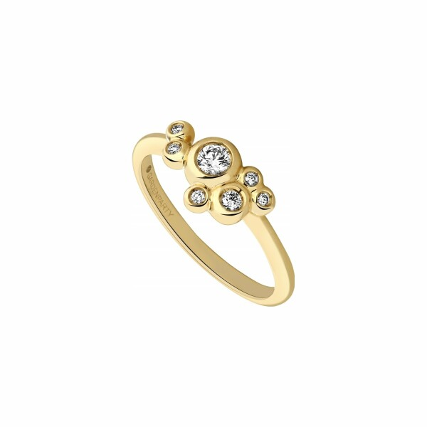 Bague Garden Party Ivresse en or jaune et diamants