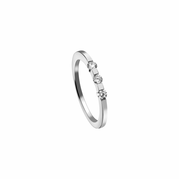 Bague Garden Party Eclat en or blanc et diamants