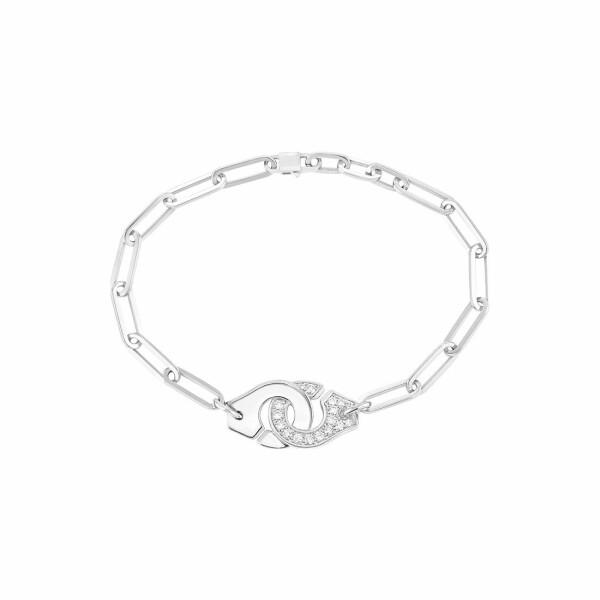 Bracelet dinh van Menottes dinh van en or blanc et diamants R12