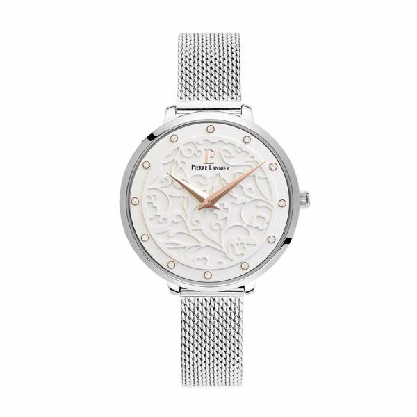 Coffret de montre Pierre Lannier Eolia 366F608 et collier