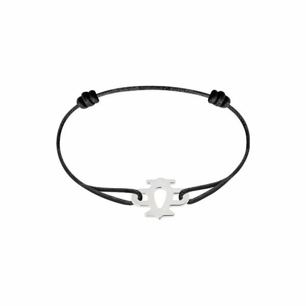 Bracelet sur cordon dinh van Bubbles avion en Or blanc