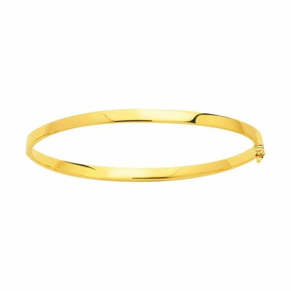 Bracelet jonc en or jaune