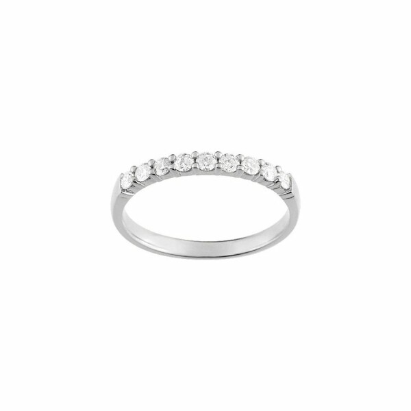 Alliance en or blanc et diamants de 0.30ct