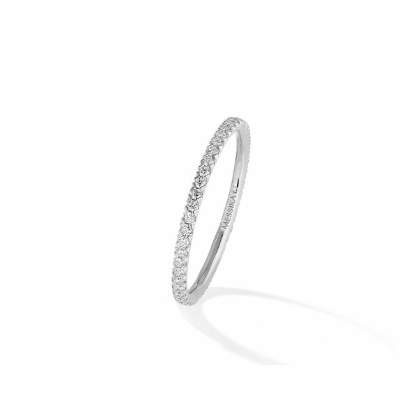 Alliance Messika Gatsby en or blanc et diamants