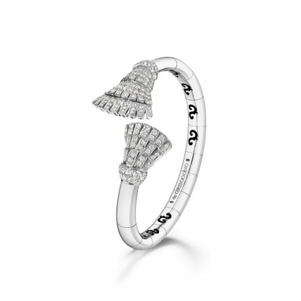 Bracelet de GRISOGONO Ventaglio en or blanc et diamants