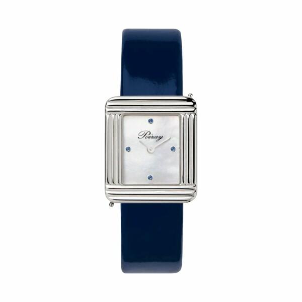 Montre Poiray Ma Première Précieuse Saphirs Bleus 41560