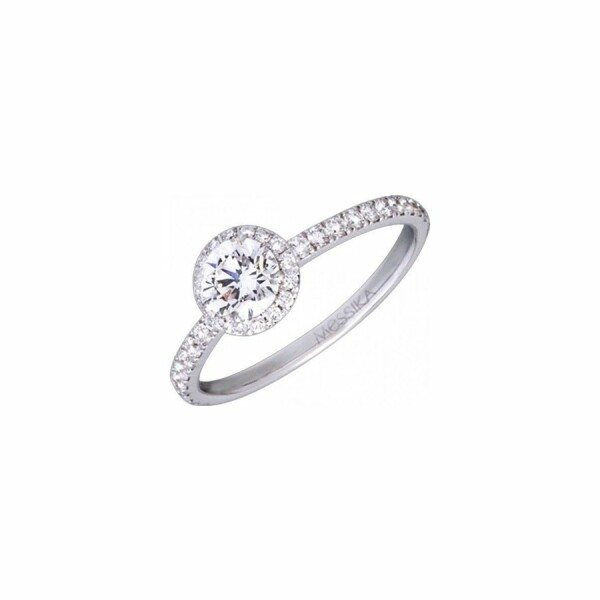 Solitaire Messika Joy en or blanc et diamants