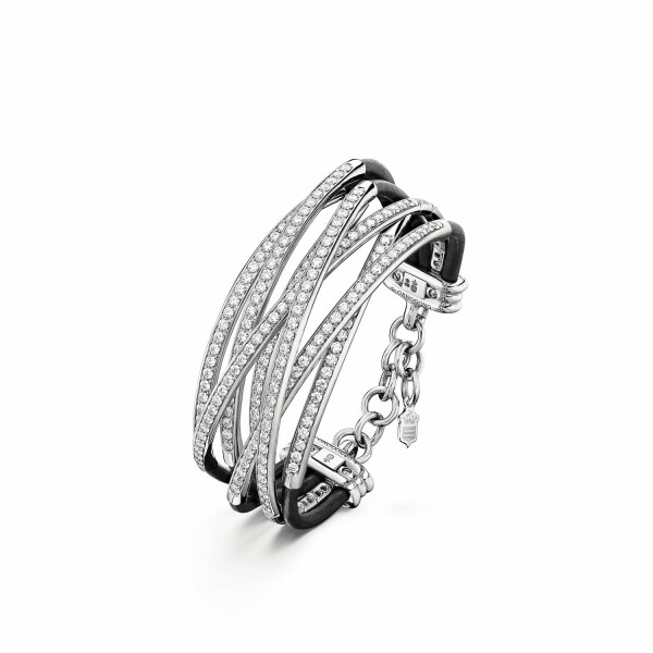 Bracelet de GRISOGONO Allegra en or blanc et diamants