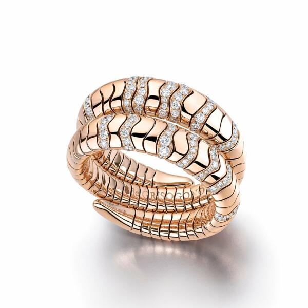 Bracelet de GRISOGONO Millefoglie en or rose et diamants