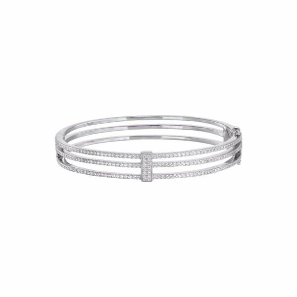 Bracelet en or blanc et diamants de 1.55cts