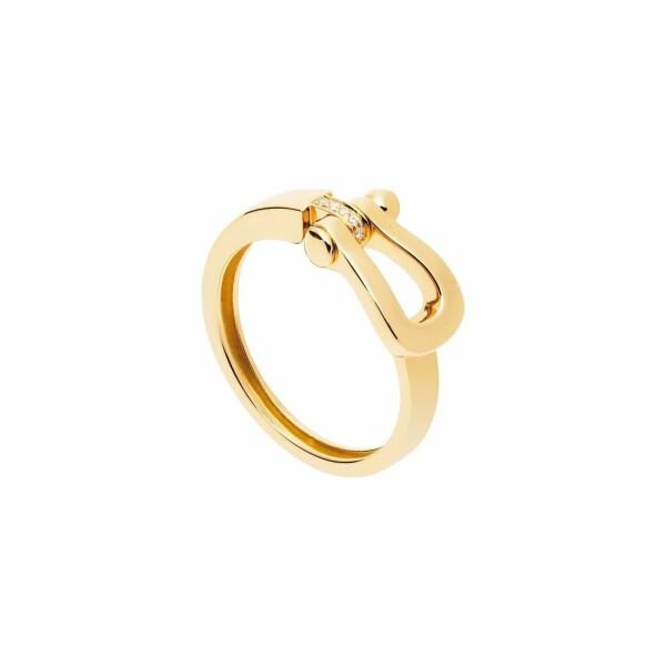Bague FRED Force 10 en or jaune et diamants
