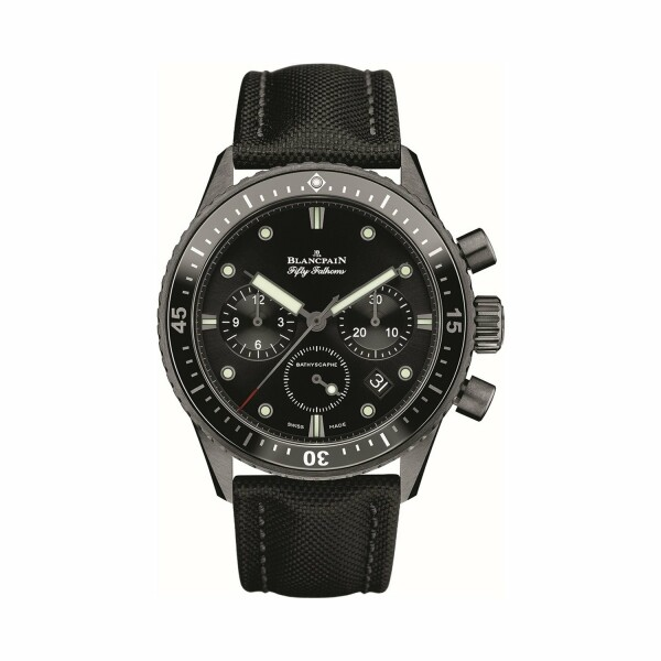 Montre Blancpain Fifty Fathoms Bathyscaphe Chronographe Flyback