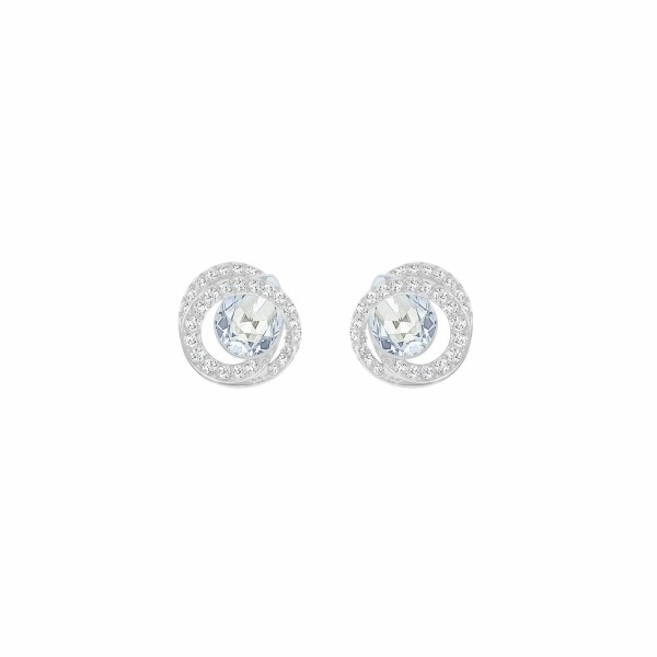 Boucles d'oreilles Swarovski Generation en cristaux Swarovski et acier rhodié