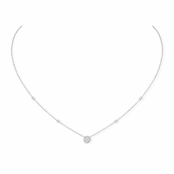 Collier Messika Joy XS en or blanc et diamants