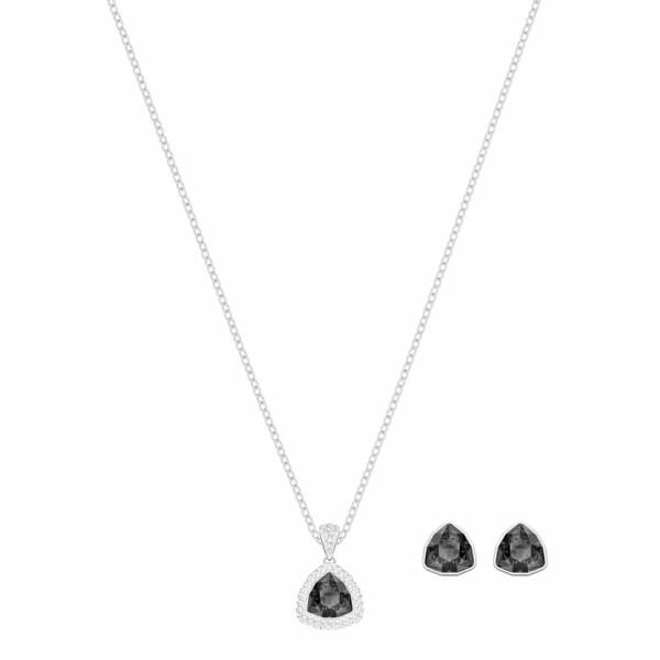 Parure Swarovski Begin en cristaux Swarovski et acier rhodié