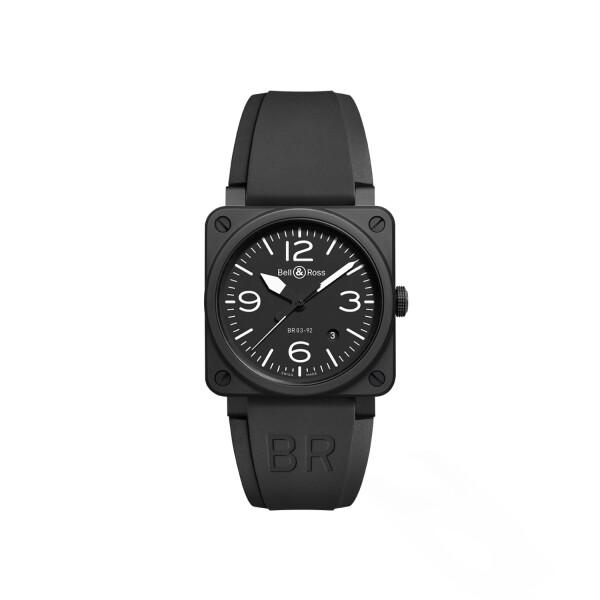 Montre Bell & ross Aviation br 03 Br 03-92 black matte