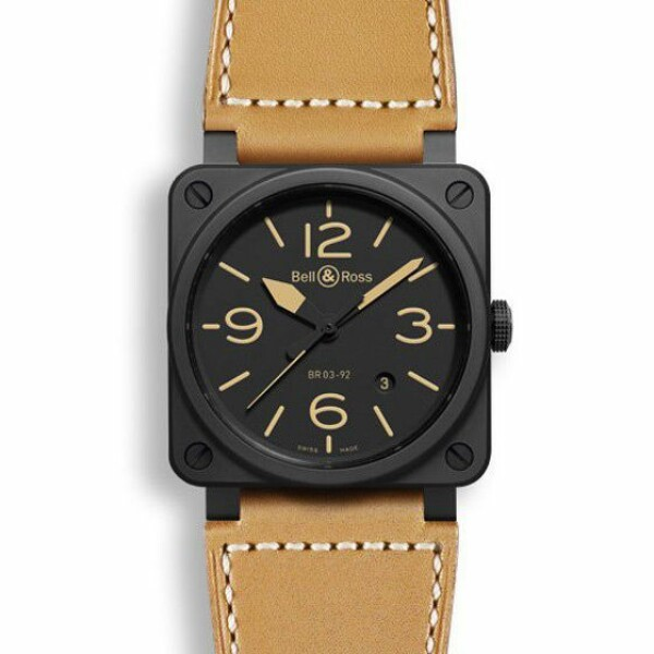 Montre Bell & ross Aviation br 03 Br 03-92 heritage ceramic