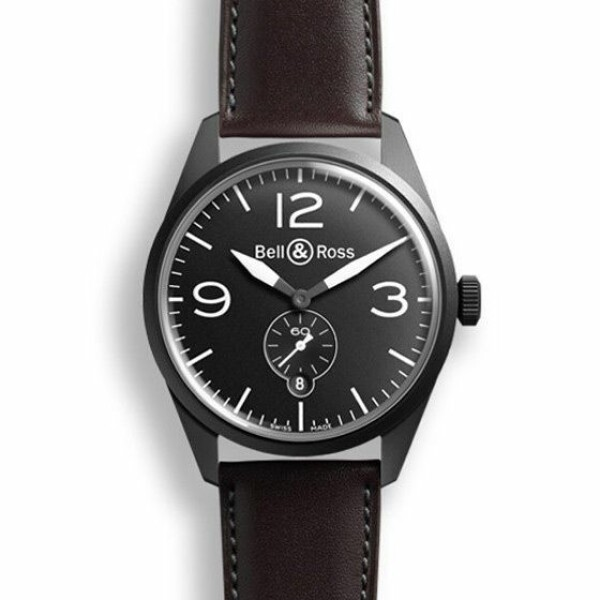 Bell & ross Vintage BR 123 original carbon
