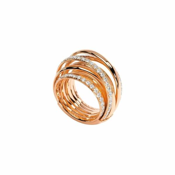 Bague de GRISOGONO Allegra en or rose et diamants