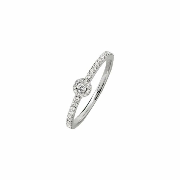 Bague Messika Joy XS en or blanc et diamants