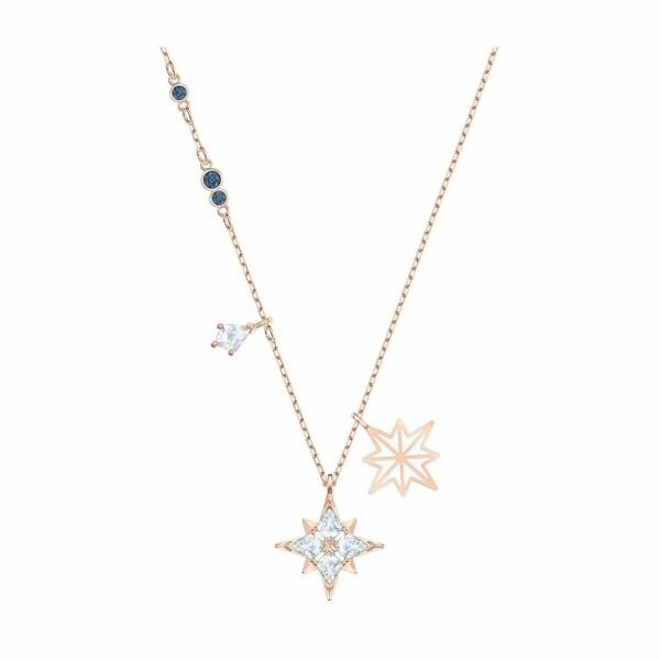 Pendentif Swarovski Symbolic Star en plaqué or rose et cristaux Swarovski