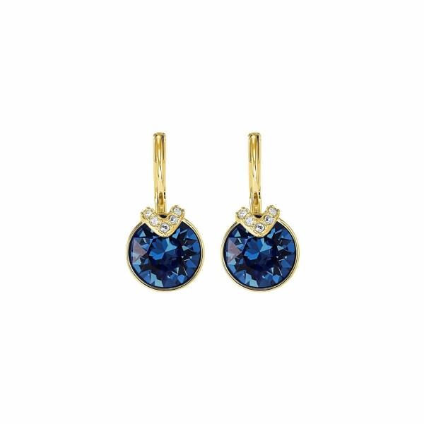 Boucles d'oreilles Swarovski Bella V en acier rhodié et cristaux Swarovski
