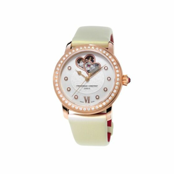 Montre Frédérique constant Ladies automatic World heart federation