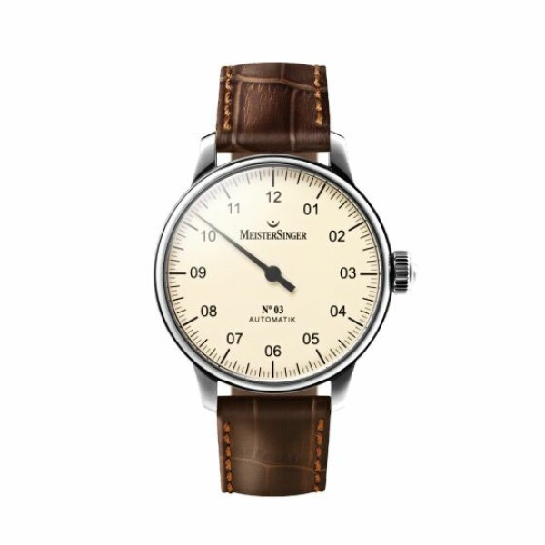 Montre Meistersinger Single-hand N° 03
