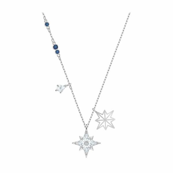 Pendentif Swarovski Symbolic Star en acier rhodié et cristaux Swarovski