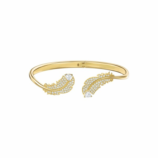 Bracelet Swarovski Nice en plaqué or jaune et cristaux Swarovski