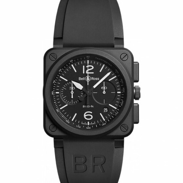 Montre Bell & ross Aviation br 03 Br 03-94 black matte