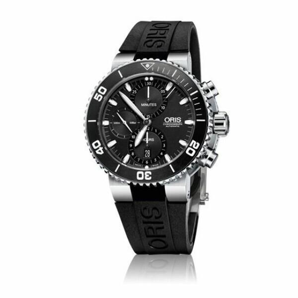 Montre Oris Plongée Aquis chronograph