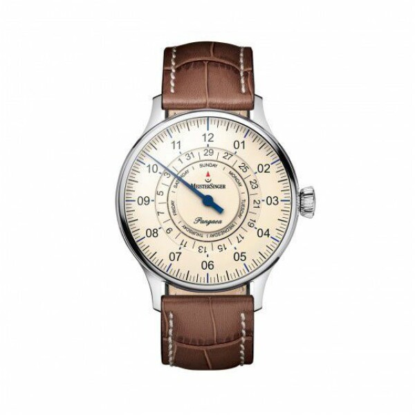 Montre Meistersinger Single-hand functions Pangaea day date