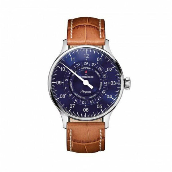 Meistersinger Single-hand functions Pangaea day date