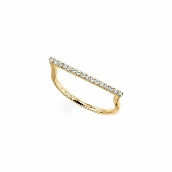 Bague Messika Gatsby en or jaune et diamants