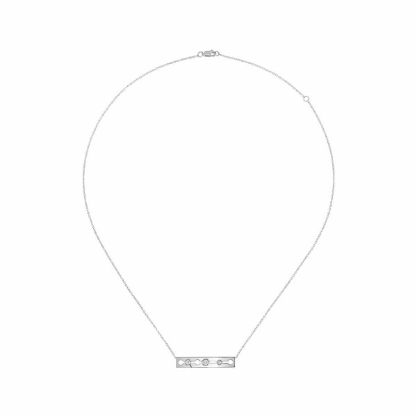 Collier dinh van Pulse dinh van en or blanc et diamants